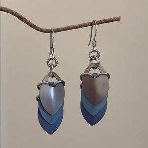 Industrial looking earrings